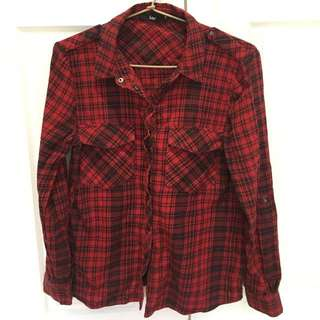 Red Flannel Shirt Sportsgirl
