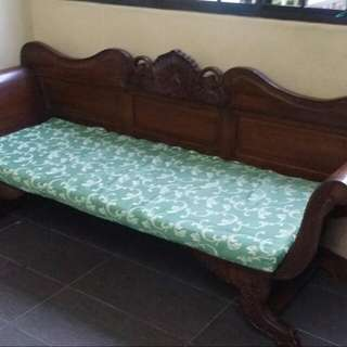 Long Bench For Dining Solid Wood Or Balcony (RESERVED)