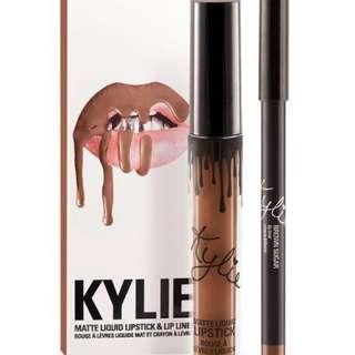 Kylie Lip kit | Brown Sugar