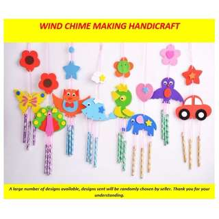 WIND CHIME ART - CHILDREN'S DIY CRAFT GREAT FOR GOODY BAGS!