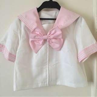 Baby Pink Sailor Schoolgirl Set - Japanese