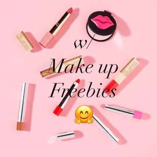 Make Up Freebies