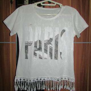 White Paris Shirt
