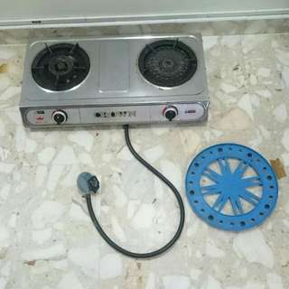 Double Burner Table Cooker (Brand-Crown)
