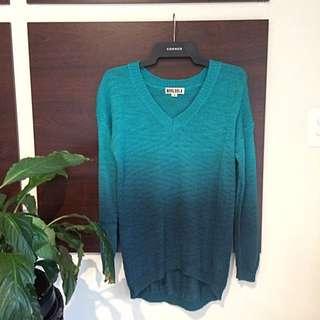 Mooloola Blue/Green Gradient Sweater