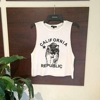 "Paper Closet ""California Republic"" Mid Top"