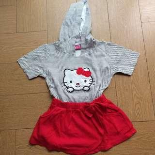 Mini Dress Hello Kitty