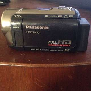 Panasonic video camcorder