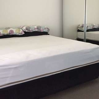 Queen Sized Mattress And Bed Base