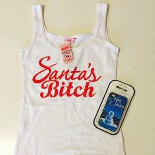 New Christmas Top & Phone Cover Size 8