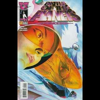 BATTLE OF THE PLANETS: PRINCESS #1 (2004) Alex Ross cover