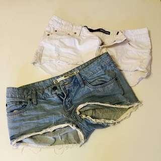 Denim Shorts Size Medium