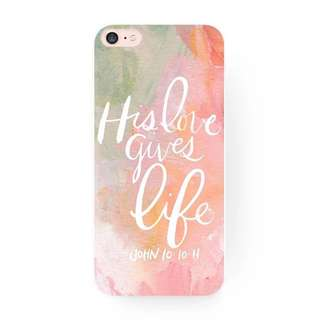 [PO] iPhone Bible Verse Pastel Phone Case