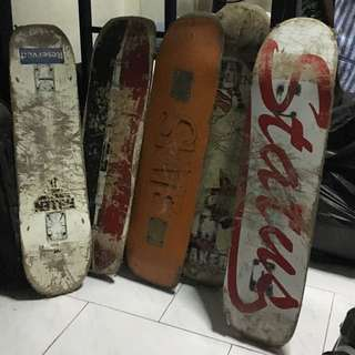 Skateboard Stuffs (RESERVED)