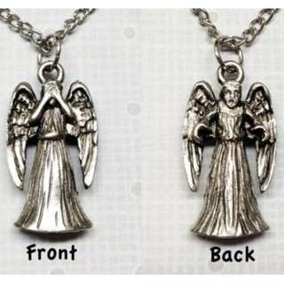 Doctor Who Weeping Angel necklace