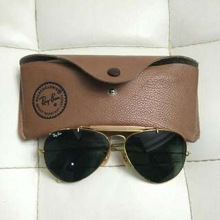 Rayban Aviator's Gold Frame Authentic