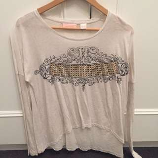 Sass And Bide Long Sleeve Top