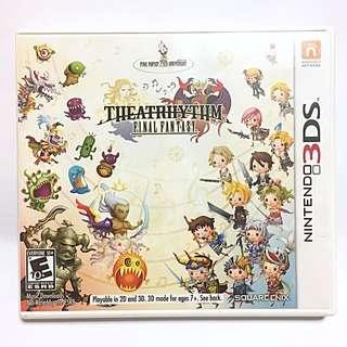 (Reserved) Theatrhythm Final Fantasy Nintendo 3DS Game Cartridge