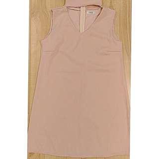 Cream Choker Dress