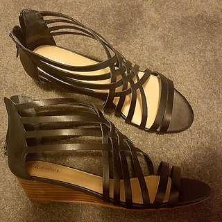 Black Flats Size 9