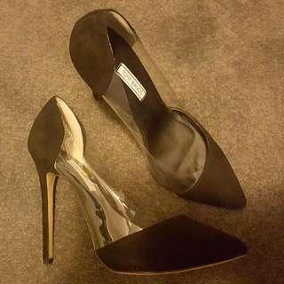 Black Stilettos Size 9