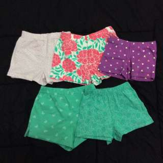 Short Pants For Baby Girl's