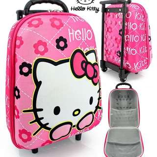 Tas Trolley Anak 3D Mini Hello Kitty