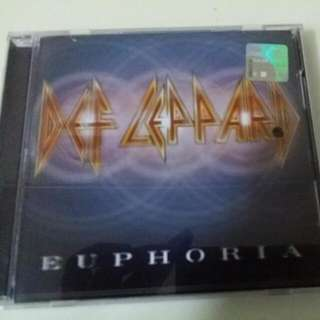 Music Cd - Def Leppard Euphoria