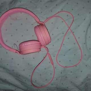 Pink Head Phones