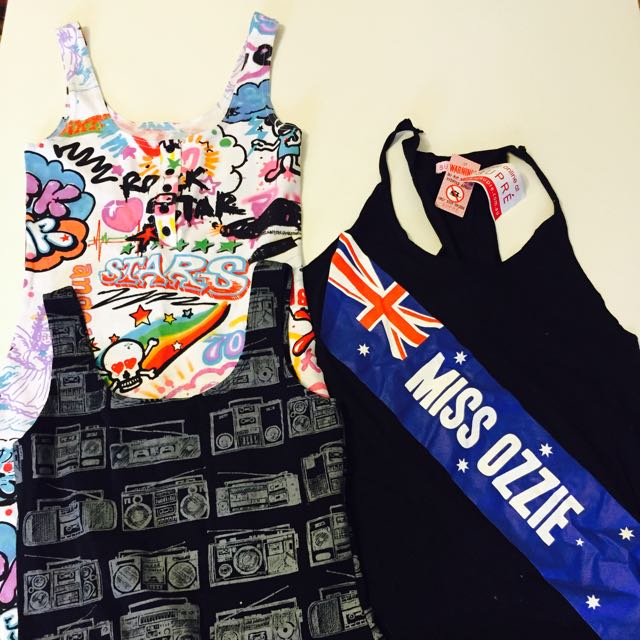 2 Dresses & 1 Top Size 8