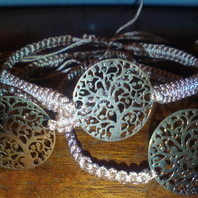 3 Gold Coloured Friendship Bracelets