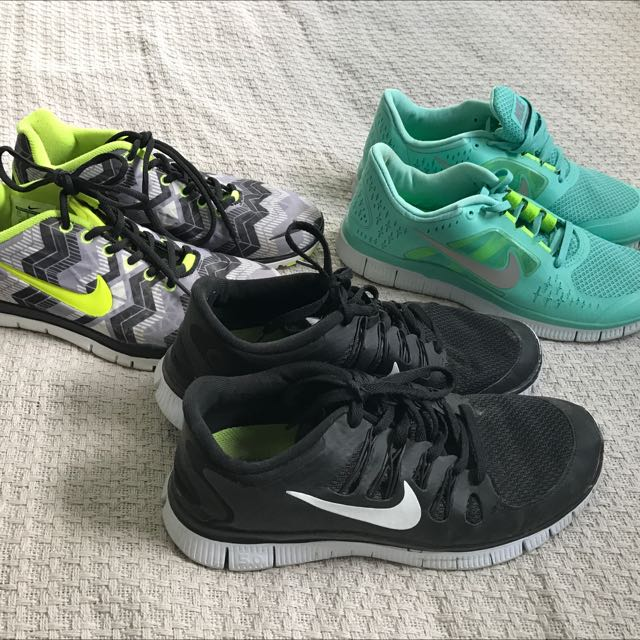 3x NIKES WILL FIT SIZE 8