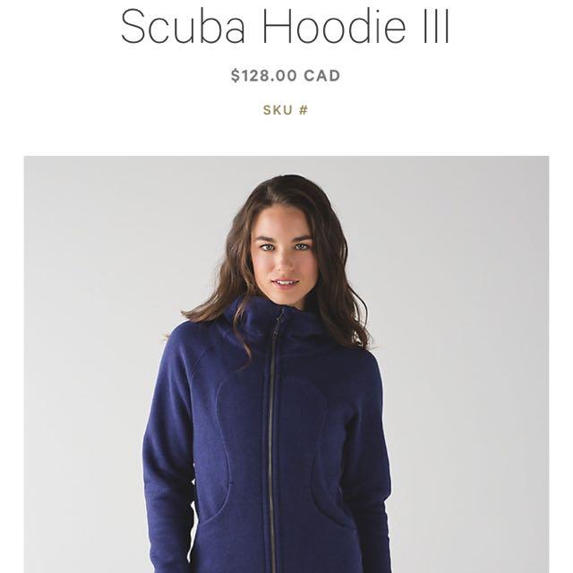 (4) Scuba III Hoodie
