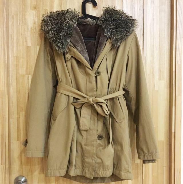 韓國重磅刷毛內裏厚外套#降價