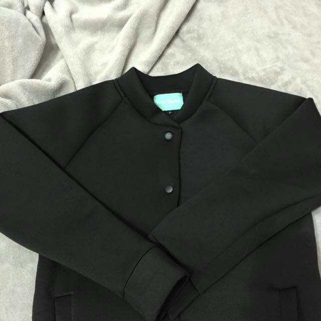 太空棉外套 黑