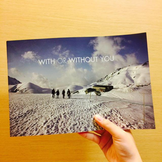 (待匯)✨全新✨蘇打綠 小威 2014 攝影書 With Or Without You
