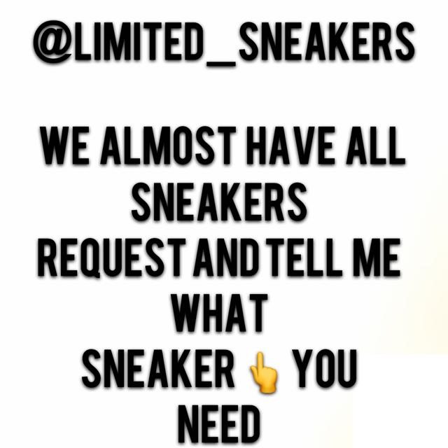 all sneakers request it to me