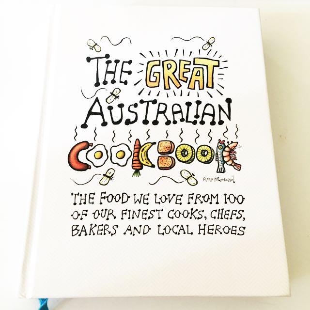 Australian cookbook now$45 was$49.95
