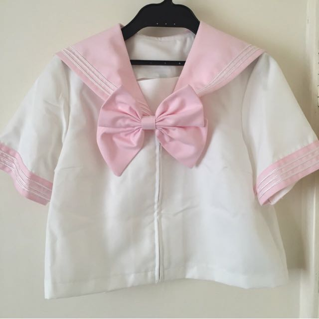 Baby Pink Sailor Schoolgirl Set - Japanese