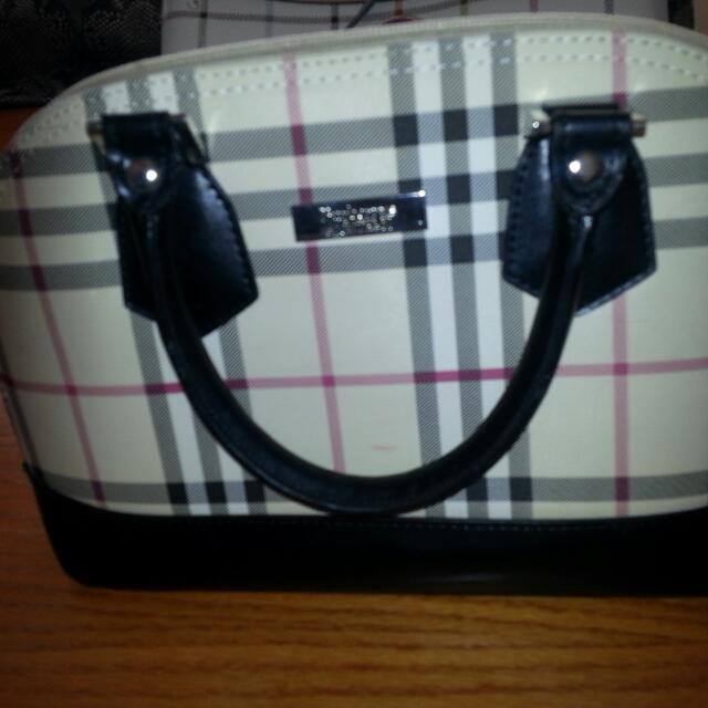 Burberry Small Handbag (Original Blue Label)