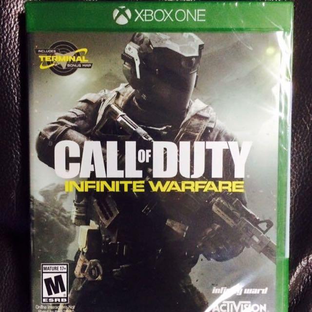 Call Of Duty Infinite Warfare Xbox One w/DLC Code Reserved*