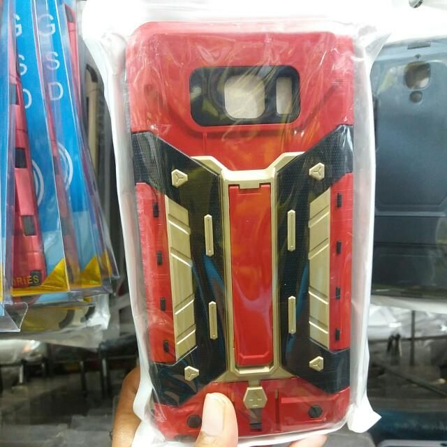 CASE ROBOT NOTE 5 FREE TEMPERED GLAS