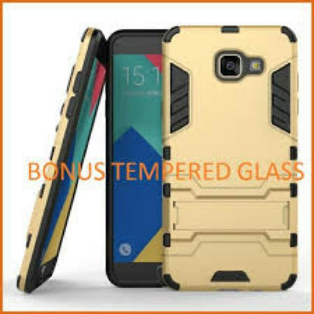 CASE ROBOT S7 EDGE FREE TEMPERED GLAS