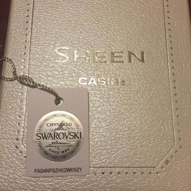 CASIO SHEEN 晶鑽女錶