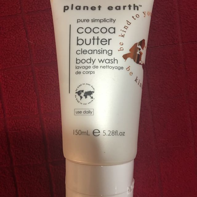 Cocoa Butter Body Wash Planet Earth