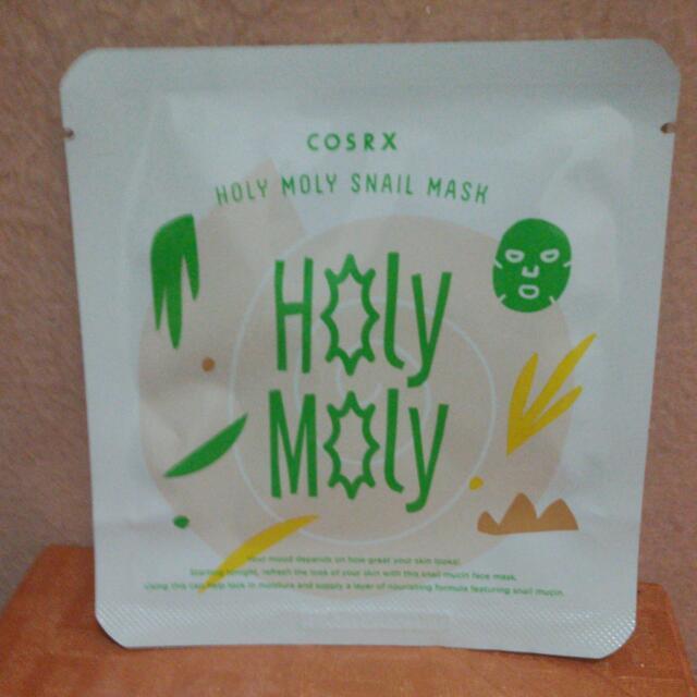 Cosrx Holy Moly Snail Mask