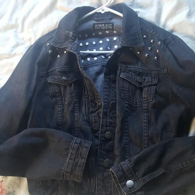 Cotton on Denim Jacket size 12