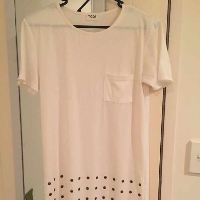 Cream Dress/top