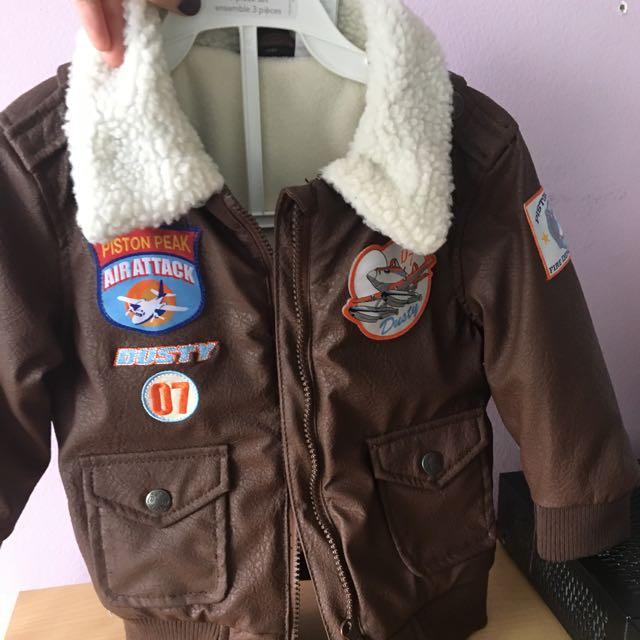 Disney Kids Leather jacket - Size: 2T