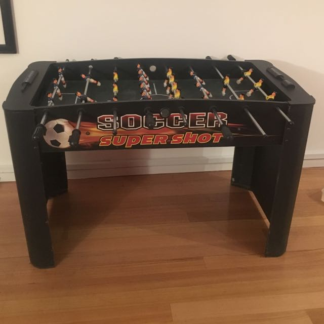 Foosball Table - Barely Used